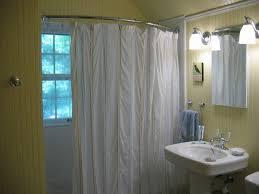 Round Shower Curtain Rod For Corner Shower Curved Curtain Rod Ceiling Track Shower Curtain Bendable