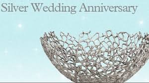silver anniversary gifts anniversary gift for couples see amazing ideas