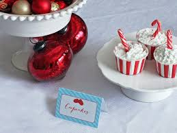 templates for customizable holiday place setting cards diy