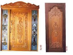 Tamil Nadu Wooden Doors Design