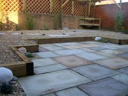 Slabbed Patio Designs I Like This For The Backyard For The Home Pinterest Gardens