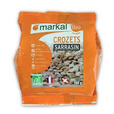 cuisiner les crozets crozets sarrasin pâtes savoyardes produit bio markal