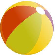 ballon de plage multicolore 540674bc jpg