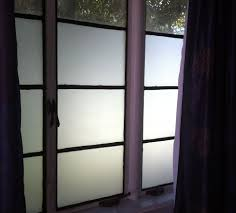 diy frosted privacy windows 4 steps