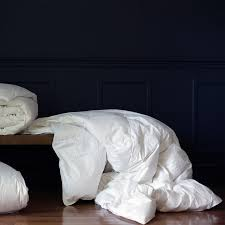 Down Comforter Full Size Down Etc Essential Fall Weight White Goose Down 235 Thread Count