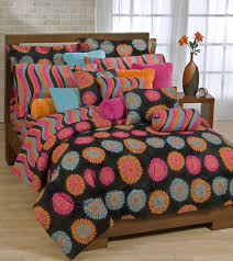 Orange Comforter Captivating Orange And Pink Comforter Fancy Home Design Furniture