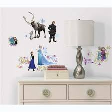 Frozen Kids Room by Wall Decals Of Elsa Sven Cristof Anna And Olaf From Frozen