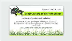 Landscape Business Cards Design 32 Professional Gardener Business Card Designs For A Gardener
