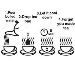Tea Meme - how to make yourself a mug of tea funny memes daily lol pics