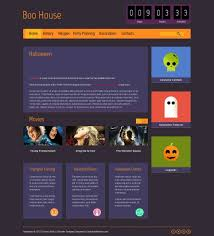 halloween background for powerpoint halloween free html5 theme