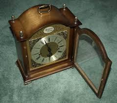 Bulova Valeria Mantel Clock Tempus Fugit Bulova Mantel Clock On Popscreen
