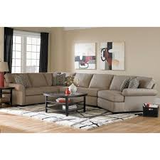 Broyhill Furniture Ethan Transitional Sectional Sofa With Right - Broyhill living room set