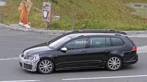 volkswagen golf truck vw golf r variant facelift conducts brake tests