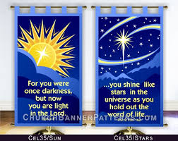 celestial church banner patterns