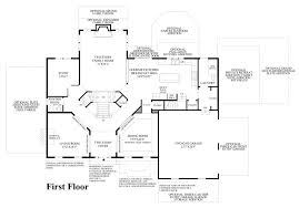Georgian Floor Plan by The Estates At Cedarday The Stansbury Home Design