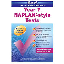 excel year 7 naplan style tests big w