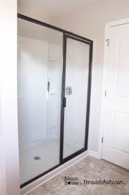 Diy Door Frame by Diy Industrial Factory Window Shower Door Remodelaholic Bloglovin U0027