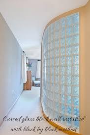 is a glass block wall sturdy glass blocks glass blocks wall
