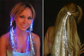 sparkly hair starlight strands illuminating extensions maybe for new years