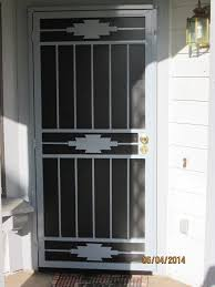 Door Pattern Steel Security Doors Sacramento Screen Doors Goodwin Cole