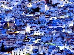 The Blue City Morocco by Jewish