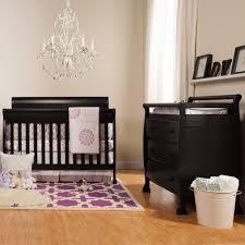 Davinci Kalani Mini Crib Ebony by Da Vinci 2 Piece Nursery Set Kalani Convertible Crib U0026 3 Drawer