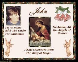 merry christmas angel john