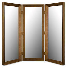 cool room dividers tri fold dressing mirror 67 cool ideas for old room divider mirror