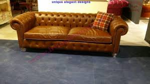 Handmade Chesterfield Sofas Uk Handmade Chesterfield Sofa Brown Leather Uk Design Exclusive