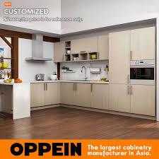 light wood kitchen cabinets modern oppein modern light wood grain kitchen cabinet op16 m07