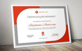 curved border corporate business certificate template for ms