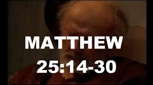 bible quote gifts talents matthew 25 14 30 parable of the talents sunday november 16 2014
