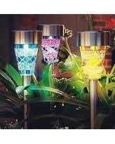Solar Lighting For Gardens by Amazing Solar Pathway Lighting Deals