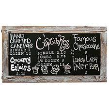 Retro Chalkboards For Kitchen by Amazon Com Vintage Rustic Farm Kitchen Chalkboard Chalk Or