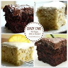 sweet little bluebird chocolate crazy cake no eggs milk butter
