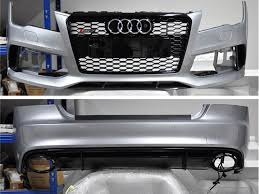 audi rs7 front audi rs7 front rear bumper with all carbon panjo