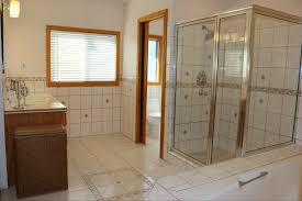 tara april glatzel the sister team info for the huge upstairs bathroom with tile flooring privacy pocket door for commode with phone