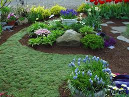 Flower Garden Ideas For Small Yards 304 Best Rock Gardens U0026 Ground Covers Images On Pinterest