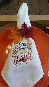 thanksgiving dinner napkins custom embroidered thanksgiving fall leaf dinner napkins