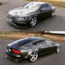 slammed audi a7 images tagged with dropitbox on instagram