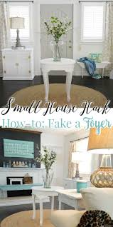 how to fake a foyer house hacks furniture placement and sisal rugs