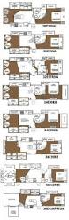 2015 R Pod Floor Plans by Glendale Titanium Fifth Wheel Floorplans 8 Layouts Camping