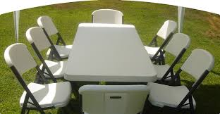 chair table rentals chair and table party rentals furniture rental mendoza party