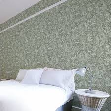 green wallpaper room crown archive wallpaper collection