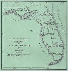 Ocala National Forest Map Ccc