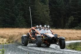 nomad off road car morgan 3 wheeler caterham seven 310r ariel nomad group test