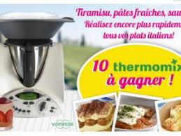 jeux de concours de cuisine gratuit jeu concours gratuit galbani 10 robots de cuisine thermomix à