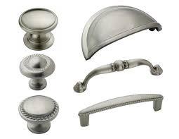Brushed Nickel Cabinet Pulls Roselawnlutheran - Brushed nickel kitchen cabinet handles