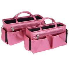 Pink Desk Organizers And Accessories by Ready Set Go Set Of 2 Bag Organizers By Lori Greiner Page 1