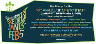 the 10th annual san francisco sketchfest